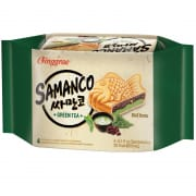 Samanco Fish Ice Cream Sandwich Green Tea 4sX150ml