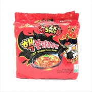 Hot Chicken Flavour Ramen 2X Spicy 5sX140g
