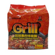 Grill Instant Noodles - Super Spicy Chicken 4sX136g