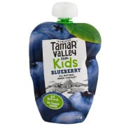 Kids All Natural Greek Yoghurt Pouch Blueberry 110g