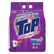 Top Indoor Drying - Super Low Suds Colour Protect - Powder Detergent