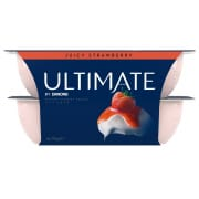 Ultimate Yoghurt - Succulent Strawberry 4sX115g