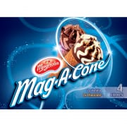 MAGNOLIA Mag-A-Cone Vanilla Chocolate Ice Cream 4sX115ml