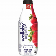 Organic Whole Milk Strawberry 946ml