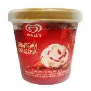 WALL'S Ice Cream Tub Strawberry Cheesecake 750ml