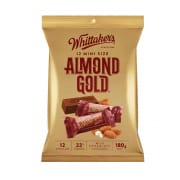 Whittaker's Almond Gold Mini Sharepack 180g
