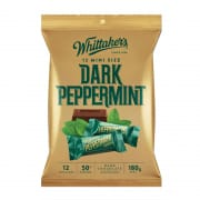 Whittaker's Dark Peppermint Mini Sharepack 180g
