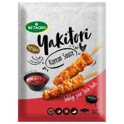 Korean Sauce Chicken Yakitori Skewers 250g