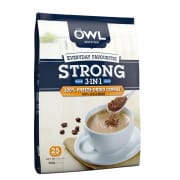 OWL Everday Favourites 3in1 Freeze Dried Instant Coffee Strong 25sX20g