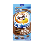 Goldfish Grahams Fudge Brownie Biscuits 187g