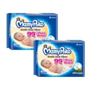 Gentle Baby Wipes - Fragrance Free 2X80s