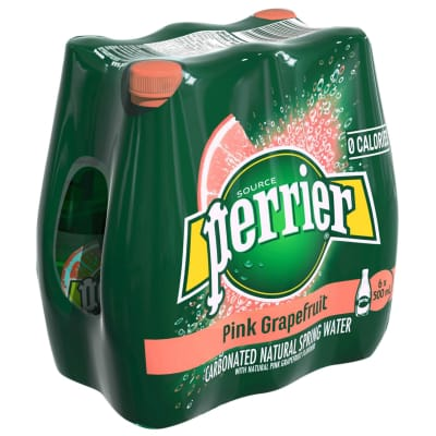 Sparkling Natural Mineral Water Pink Grapefruit 6sX500ml