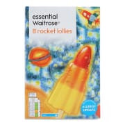 Rocket Ice Lollies 58ml x 8s