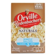 Natural Simply Salted Pop-Up Bowl Popcorn 3sX93.3g