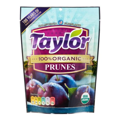 100% Organic California Prunes 250g
