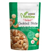 NutriOne Baked Cocktail Nuts Unsalted 85g
