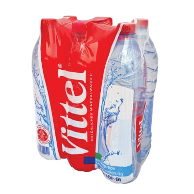 Natural Mineral Water 6sX1.5L