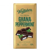 Whittaker's Ghana Peppermint Chocolate Block 200g