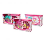 Doll House Set in Pink